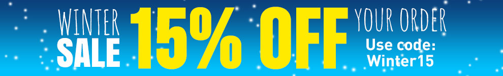 Winter 15% Off!