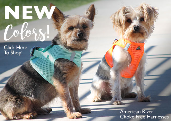 New American River Harness Colors