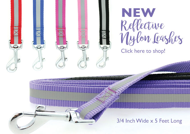 New Reflective Nylon Leashes