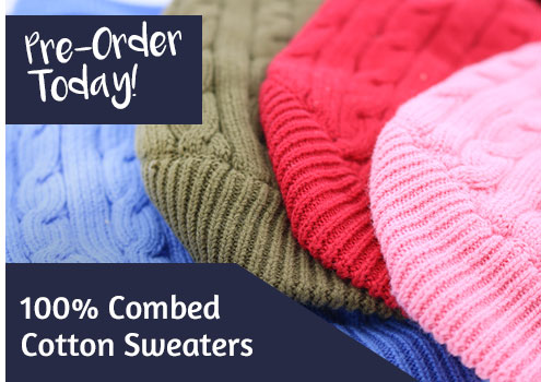 Shop Combed Cotton Sweaters