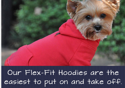 Doggie Design Flex-Fit Dog Hoodies